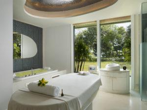 Single treatmetn room-Luxury spa by beach-Theshellseakrabi-luxuryspa-thailand